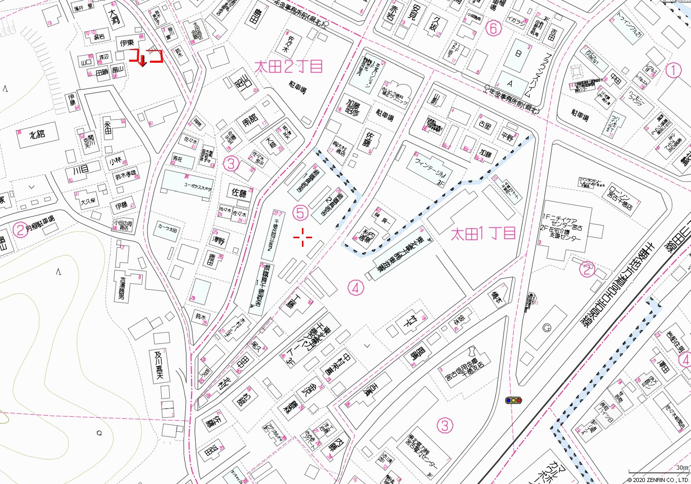 太田土地地図